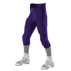 Alleson Integrated purple football pants